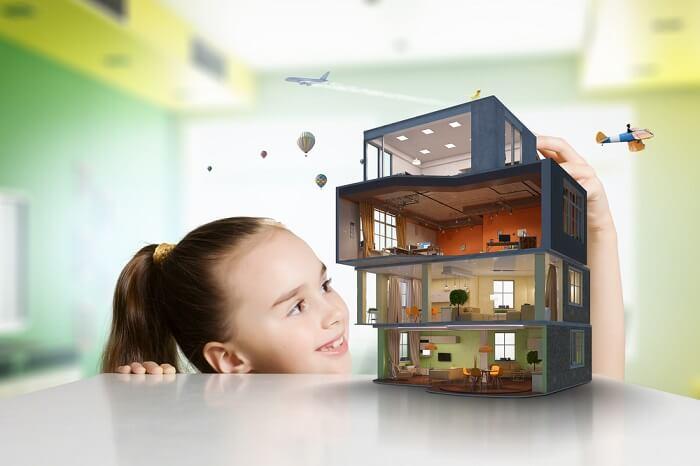 rumah impian kecil sederhana