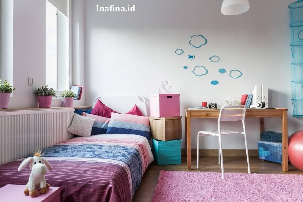 cara menata kamar tidur anak perempuan